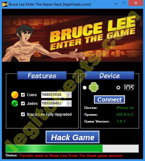 Bruce-Lee-Enter-The-Game-hack-tool-ios-android-unlimited-coins-jades