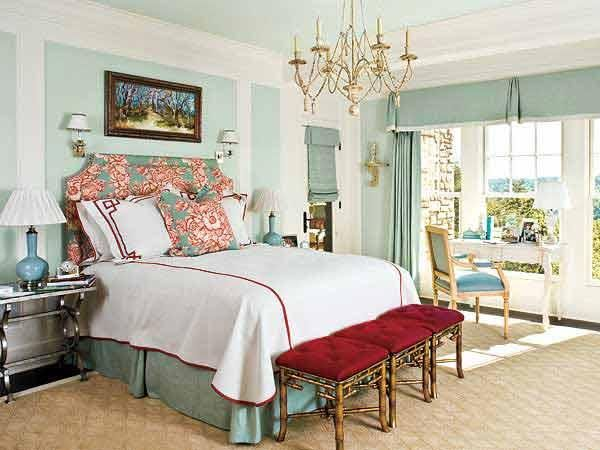 Decorate the master bedroom 4