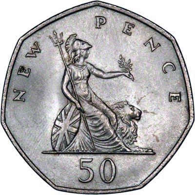 La moneda de 50 peniques y el heptágono. Matemolivares