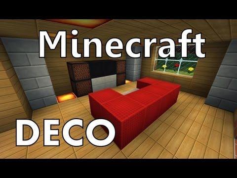 Minecraft : Comment Créer un Beau Salon - YouTube