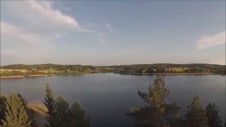 Video of a day transitioning into nightless night. This summer house is located on the coast of lake Valkeinen, Kuopio, Finland.