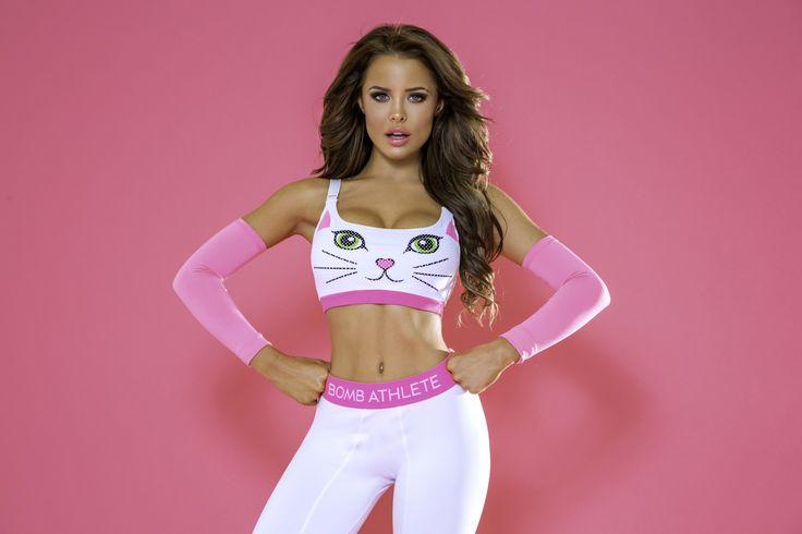 Super Active! Meow Kitty Sports Bra!