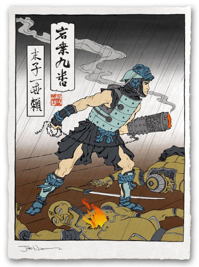 浮世絵風のロックマン2