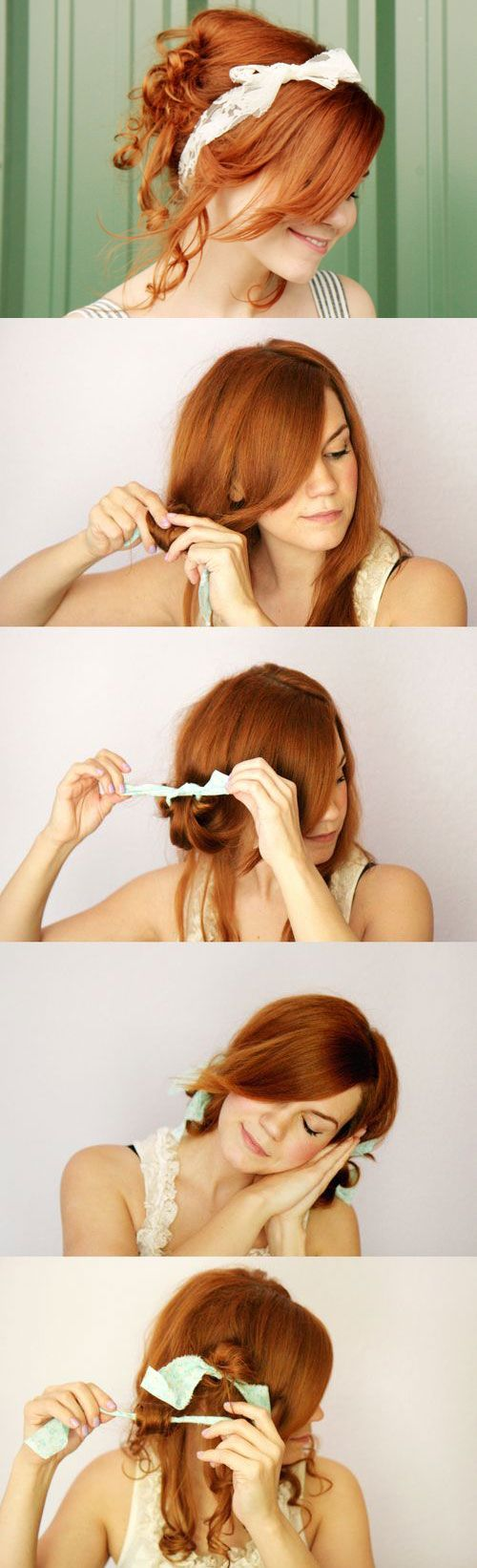 1000 Images About Coiffure On Pinterest Everyday Curls Cute