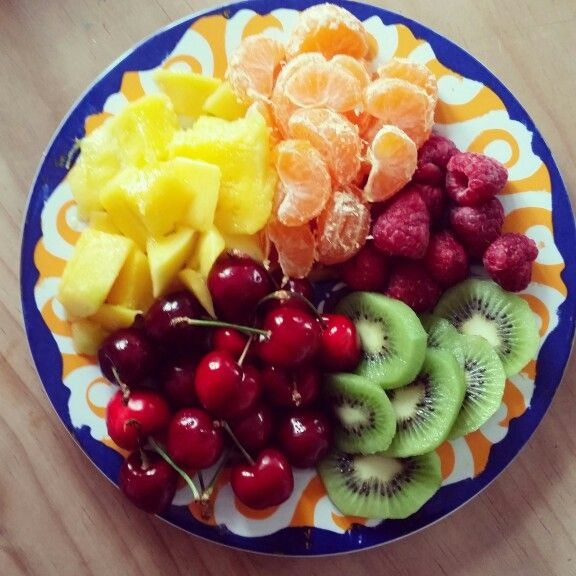 This must be what eating a rainbow looks like