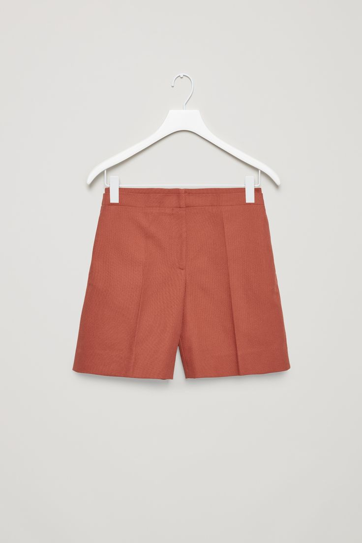 COS | Tailored cotton shorts