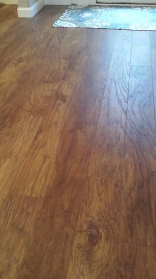 Hand Scraped Light Hickory 12 Mm Thick X In Wide X In Length Laminate Flooring 12