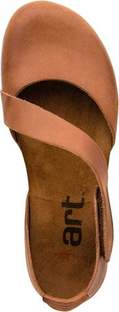 Art Creta 442 Women's Closed Toe Sandal (Coconut)