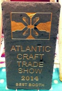 Anointment Natural Skin Care Atlantic Craft Trade Show Best Booth 2014