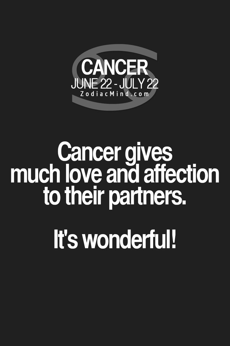 How do you love a Cancer man?