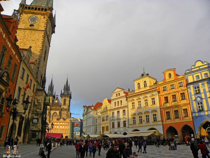 beautiful old town square, Prague
