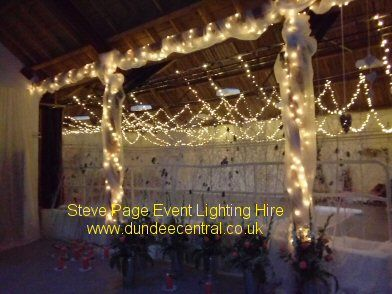 Fairy Lights at the Bield at Blackruthven near Perth