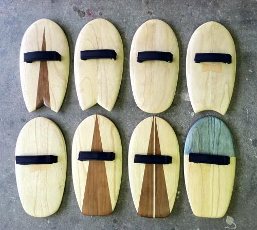 body surfing hand planes. fish tail, square tail, round... concave...