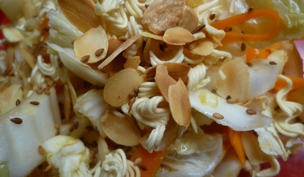 ensalada de col oriental