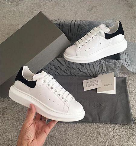 97 Alexander McQueen Platform Sneakers White Black  AlexanderMcQueen e719c41f9