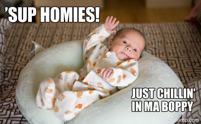 15 Of The Most Ridiculously Funny Baby Memes On ThePlanet!