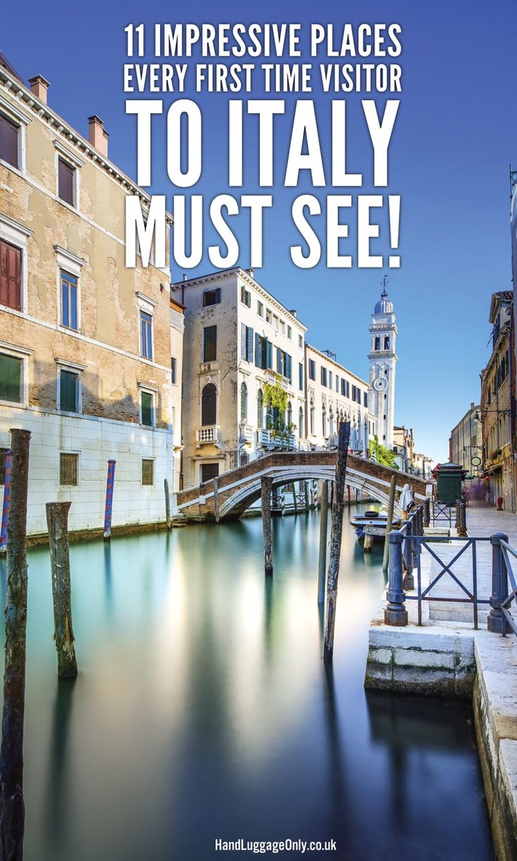 11 Impressive Places That Every First Time Visitor To Italy Must See - Hand Luggage Only - Travel, Food & Photography Blog