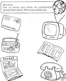 ESPAÇO EDUCAR: Meios de Comunicação
