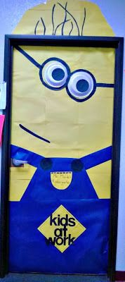DIY Despicable Me Minion Bulletin Board/ Door Decoration For a Classroom - Sassy Dealz