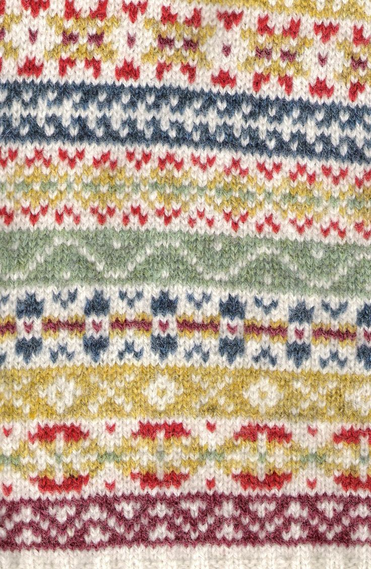 Fair Isle Knitting Pattern : Best images about fair isle knitting on pinterest