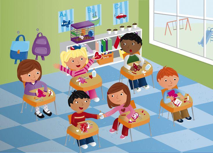 Describe the Scene - School and Classroom | English ...
