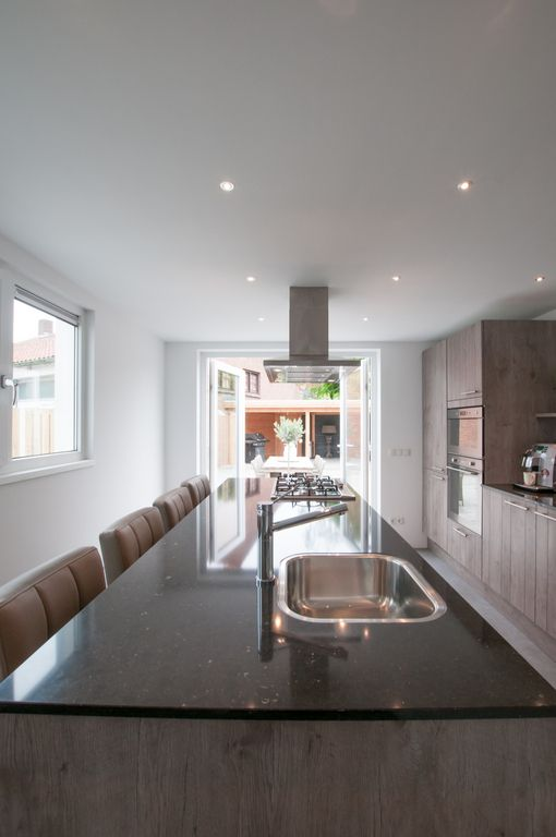 25 beste idee n over lange smalle keuken op pinterest smal kookeiland - Smalle keuken ...