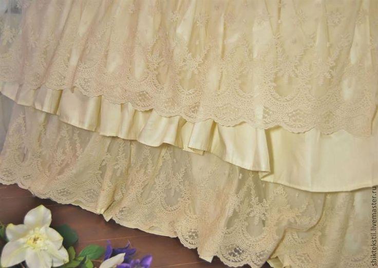Подзор юбка для кровати сшить