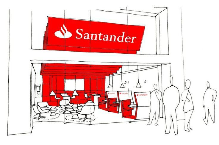best 25 santander bank ideas on pinterest paper. Black Bedroom Furniture Sets. Home Design Ideas