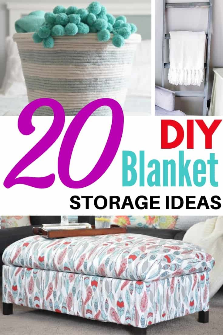 20 Smart Blanket Storage Ideas For Every Room Blanket Sto