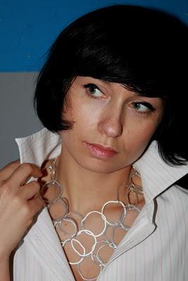 men's shirt Próchnik, necklace Bijou Brigitte,