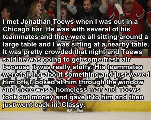 I love Toews