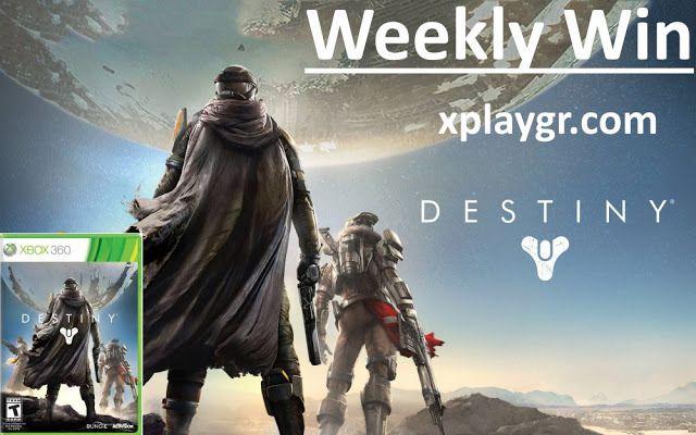 Διαγωνισμός xplaygr.com με δώρο ένα αντίτυπο του παιχνιδιού Destiny για το Xbox 360 - http://www.saveandwin.gr/diagonismoi-sw/diagonismos-xplaygr-com-me-doro-ena-antitypo-tou-paixnidiou-destiny-gia-to/