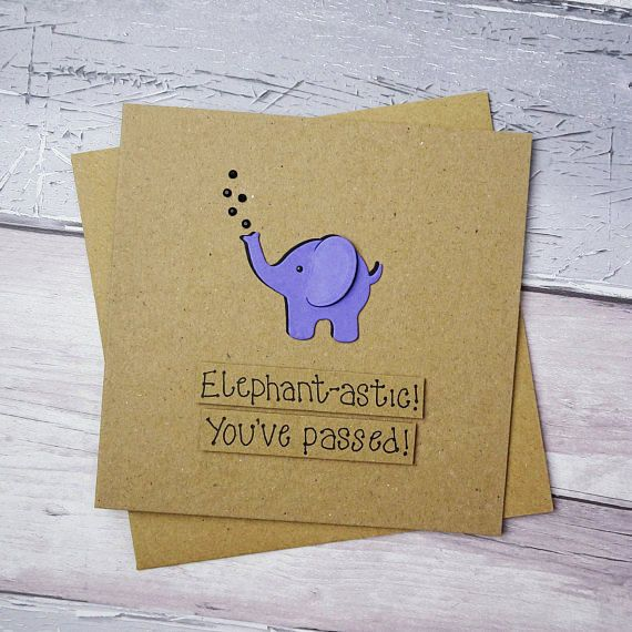 Hey, I found this really awesome Etsy listing at https://www.etsy.com/uk/listing/522385050/elephant-congratulations-card-youve