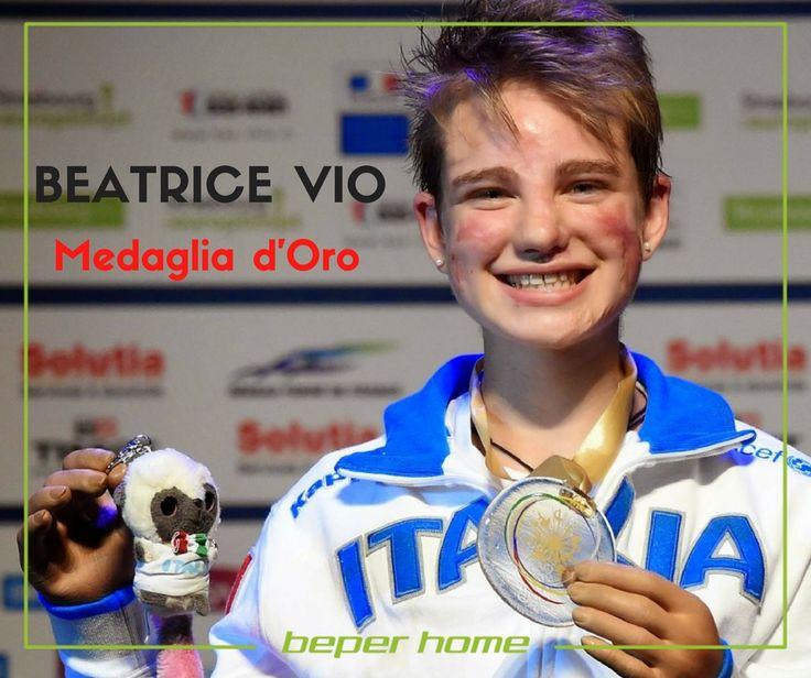 PARAOLIMPIADI DI RIO DE JANEIRO La schermitrice veneziana Beatrice Vito, di soli 19 anni, si è aggiudicata ieri la medaglia d'oro nel fioretto categoria B, quella della scherma in carrozzina. Alla ragazza sono state amputate entrambe le gambe e le mani a seguito di un grave episodio di meningite. La dimostrazione vivente che niente è impossibile se lo si vuole veramente. Orgoglio del Veneto e di tutti gli italiani.  @beperhome #beperevents #paraolympics #rio2016