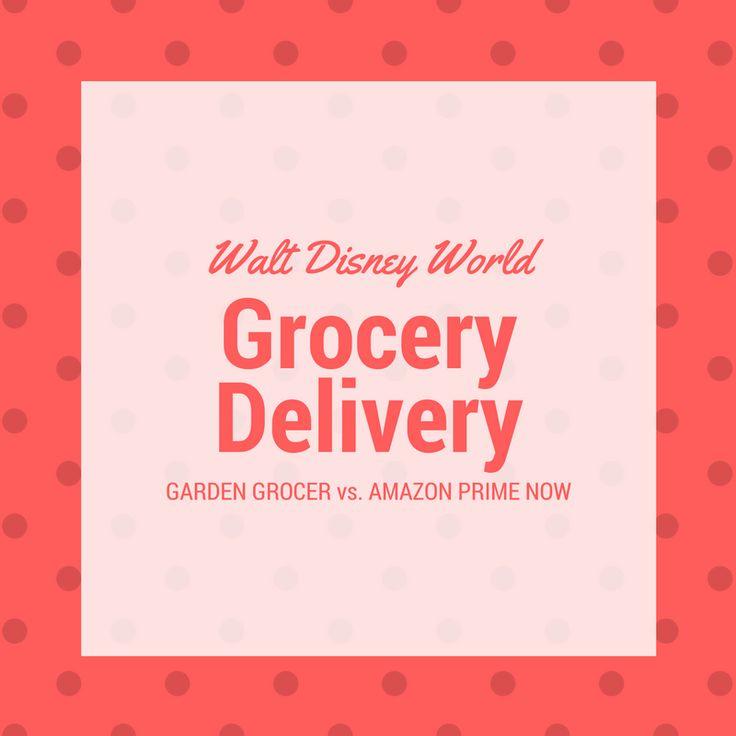 Groceries at Disney World - Garden Grocer vs. Amazon Prime Now - TouringPlans.com Blog   TouringPlans.com Blog