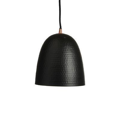 Hängeleuchte Metall schwarz ca D:20 x H:21 cm