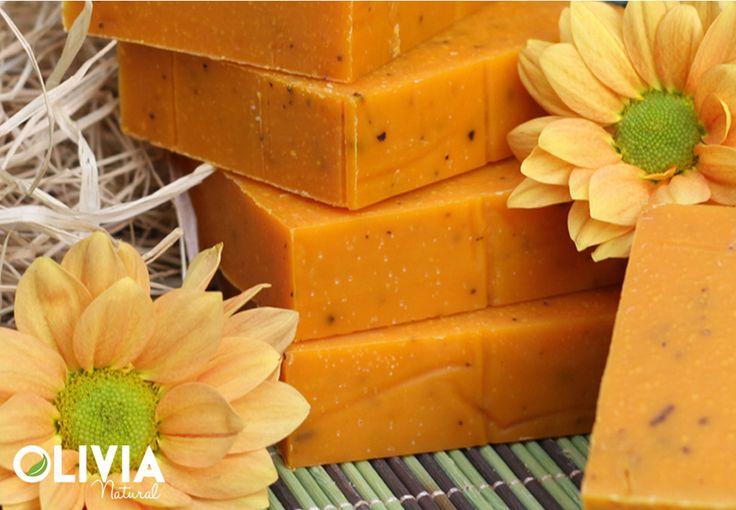 Citromfű kecsketejes szappan / Lemongrass goat milk soap