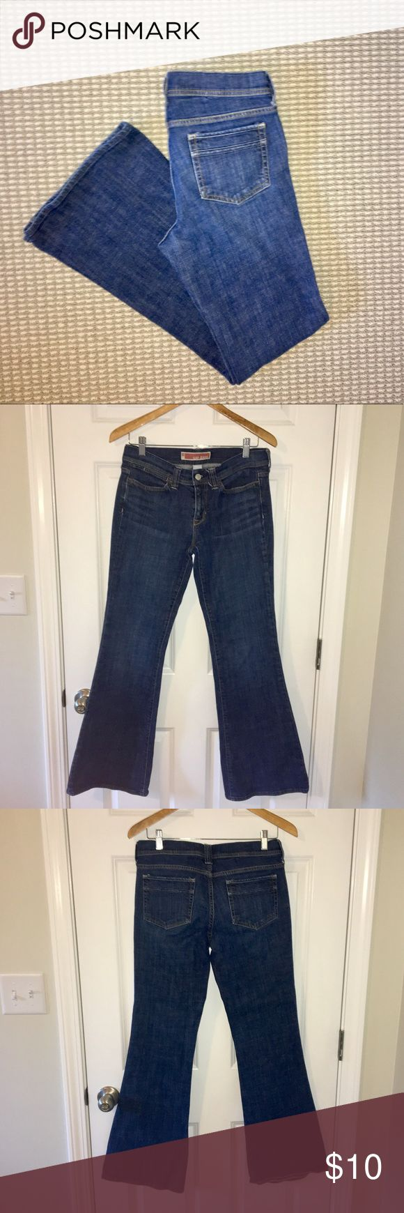 """GAP jeans GAP jeans. 31.5"""" inseam. 8"""" rise. Approx 33.5"""" waist. They have a small defect on right leg below knee, noted in picture. GAP Jeans"""