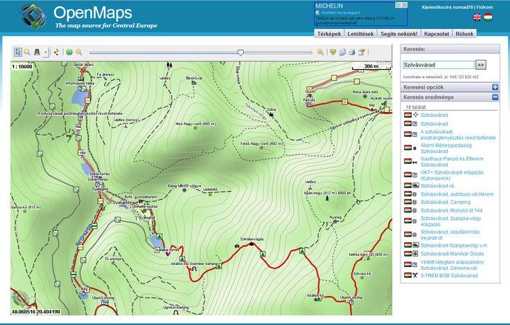 Nomád a hegyek vándora - természetjáró és túrafotós blog: Térképek - Meteorológia - Menetrend