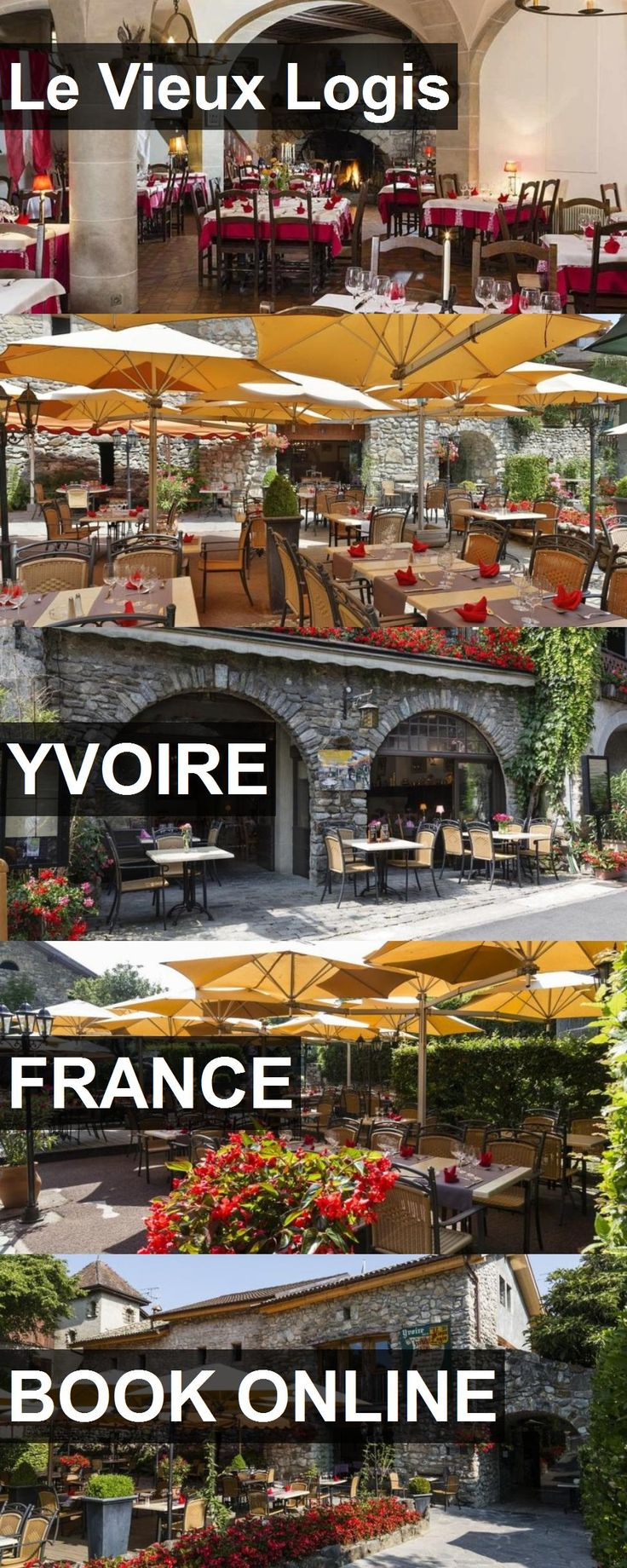 Hotel Le Vieux Logis in Yvoire, France. For more information, photos, reviews and best prices please follow the link. #France #Yvoire #travel #vacation #hotel