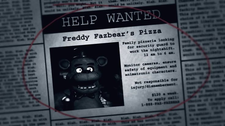 In other news, I'm a nerd anD YOU NEED TO LISTEN TO LIVINGTOMBSTONE'S FIVE NIGHTS AT FREDDY'S SONG. THANKS.