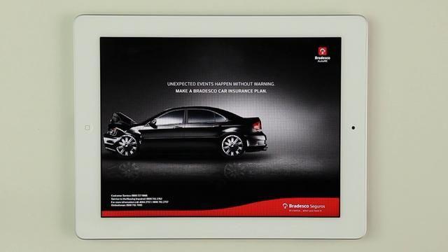 MOBILE: Gold Lion (Bradesco Fake Ad, AlmapBBDO)