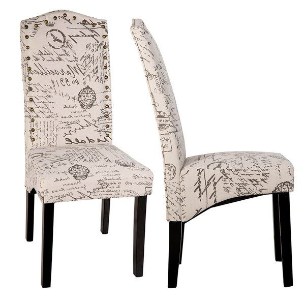 Wachapreague Script Upholstered Dining Chair