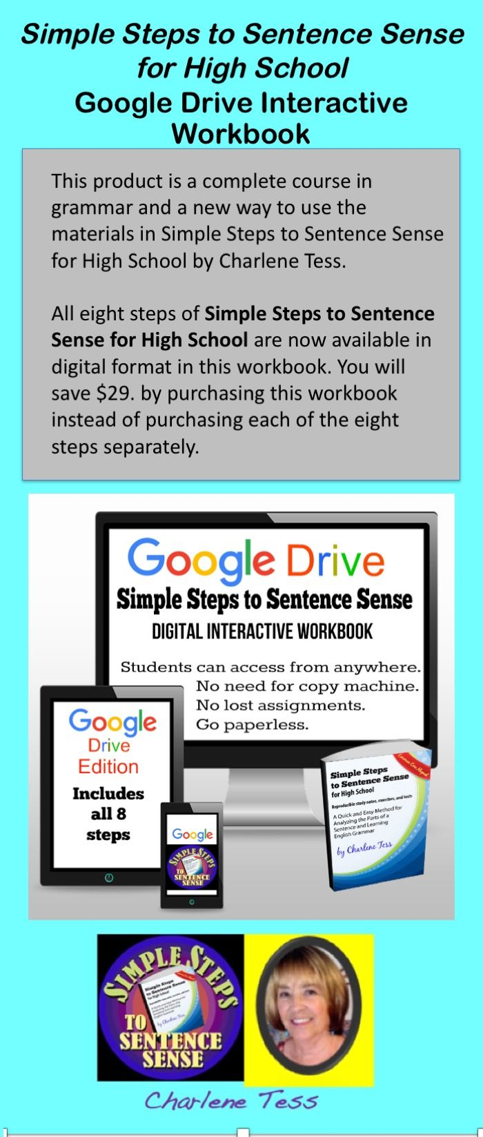 Your students can go #paperless and complete this digital activity in #googledrive. #tptdigital Great for #homeschool. #homeschoolcurriculum