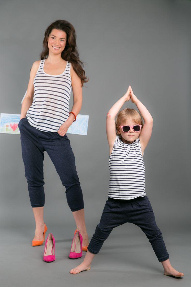 SET FOR MOM AND CHILD Set of comfortable and fits all hipsters, downwardly tapared #fashion #pants #mom #mother #doughter #child #the same wear #poland #polska #polish #kids #kidsfashion #woman #womanfashion #trousers #momanddoughter #motheranddoughter    http://www.thesame.eu/kategoria/takie-same-spodnie-i-szorty/spodnie-melange-set
