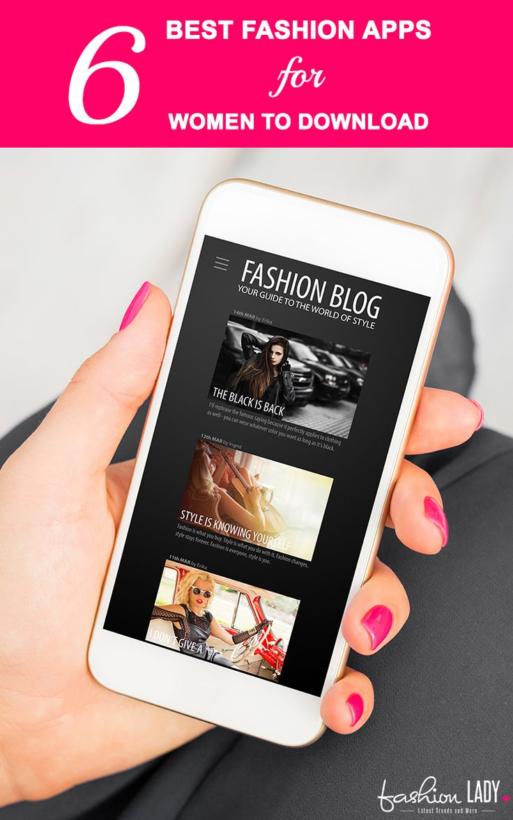 6 Best Fashion Apps For Women To Download