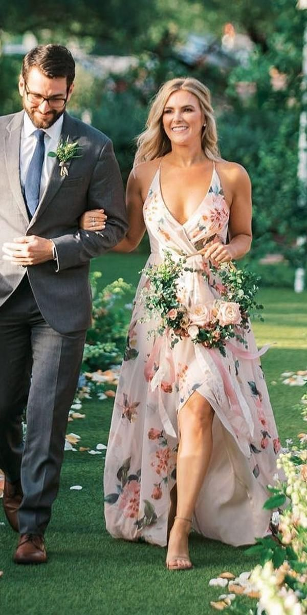 36 Ultra-Pretty Floral Wedding Dresses For Brides 2