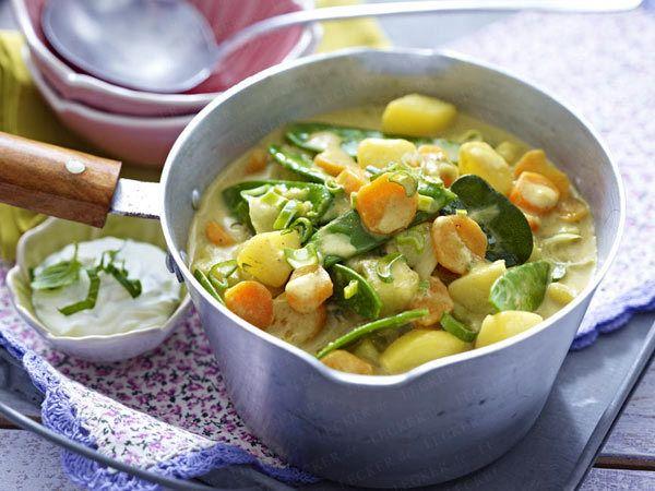 Preiswerte Rezepte - großer Genuss für kleines Geld - kartoffel-curry  Rezept