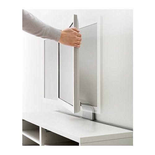 Uppleva soporte tv giratorio ikea una gran soluci n para for Recoger muebles