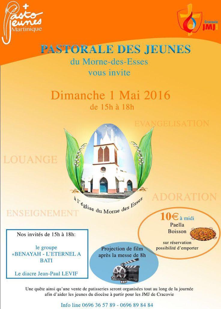 Pastorale des jeunes Vous aussi intégrez vos événements dans l'Agenda des Sorties de www.bellemartinique.com C'est GRATUIT !  #martinique #Antilles #domtom #outremer #concert #agenda #sortie #soiree